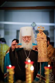 Литургия в храме Дмитрия Солунского 170