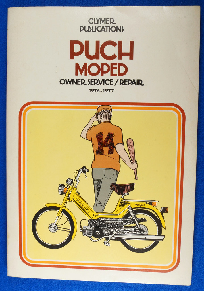 SOLD - Original Vintage Puch Moped Owner Service/Repair