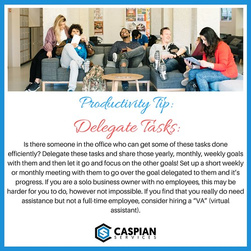Productivity Tip - Delegate Tasks | by caspianservices