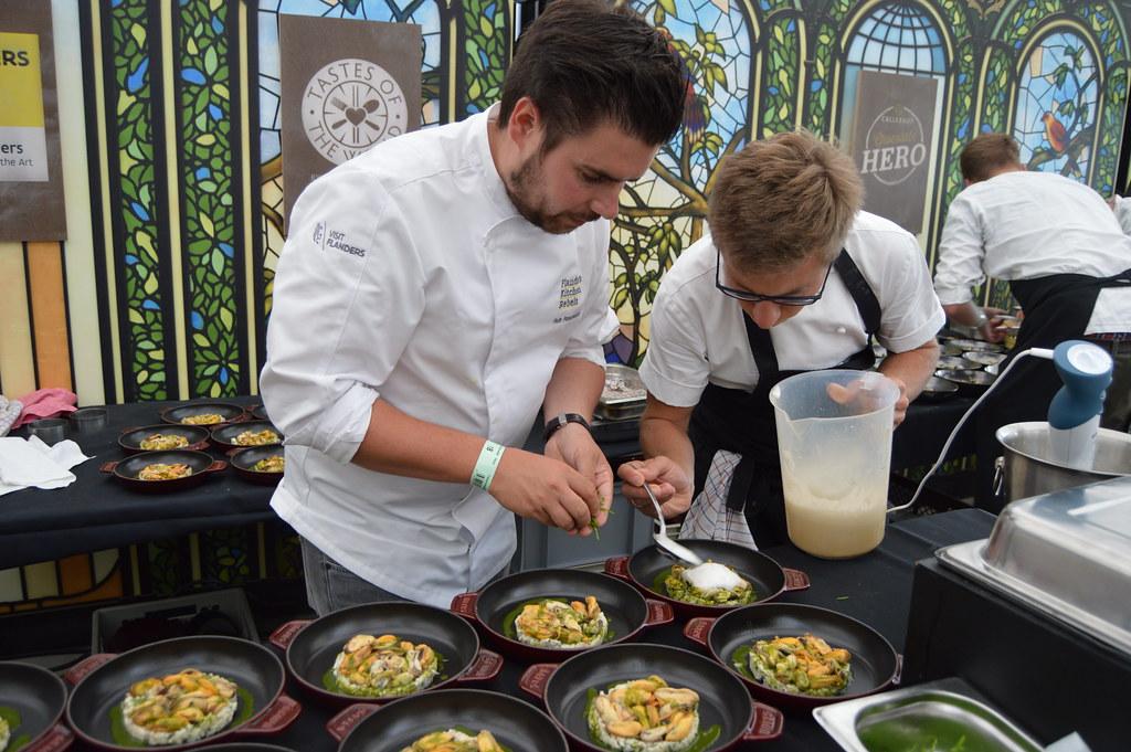 Rebeldes de la cocina flamenca