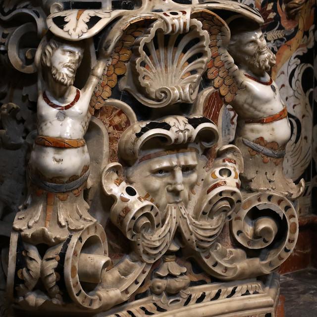 decorazioni barocche - Duomo di Monreale