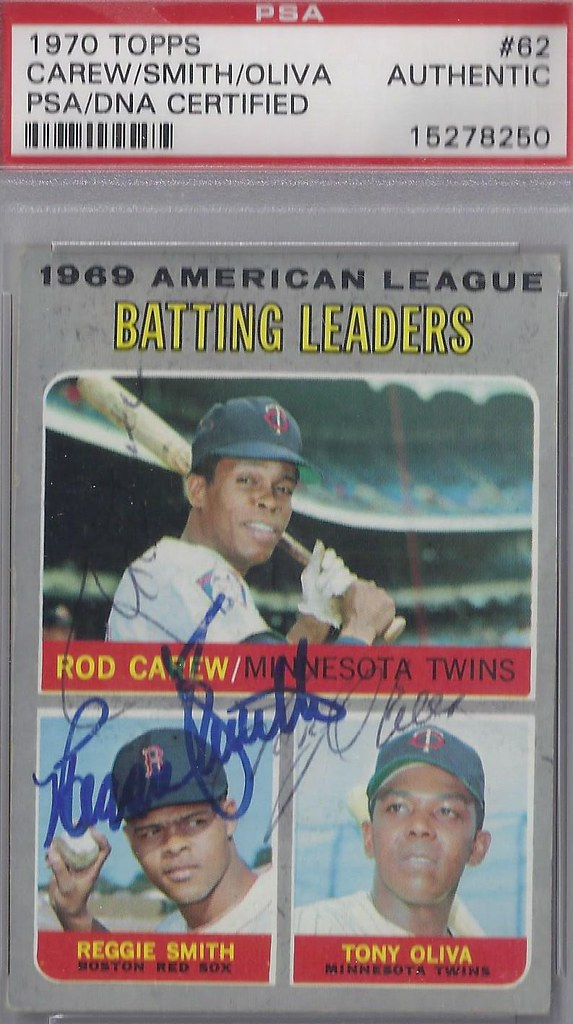 1970 Topps 1969 American League Batting Leaders 62 Ro Flickr