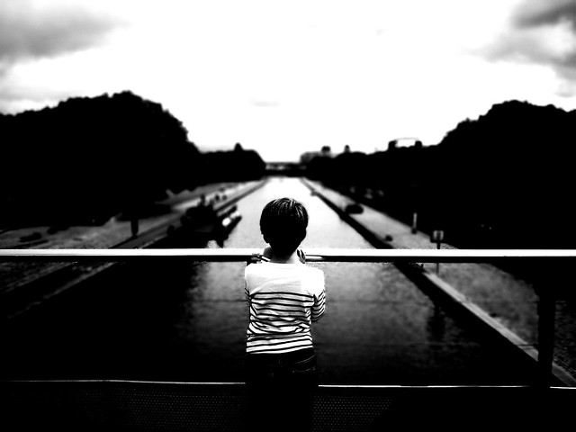 Back & black & white