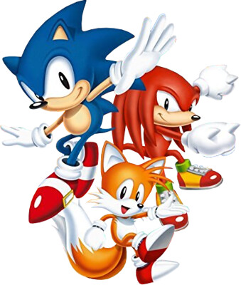 Sonic Mania Trio Official Artwork Sonictrainer Flickr