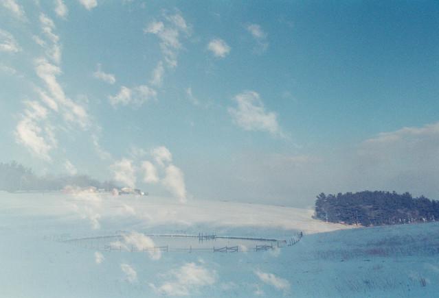 Clouds Rise // Snow Falls