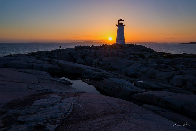 Peggy's Cove in May