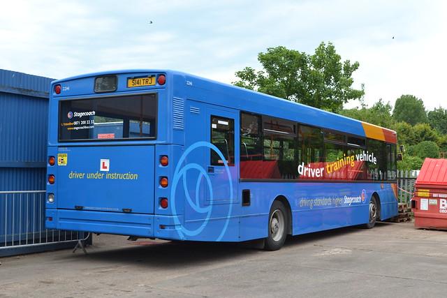 Stagecoach Cumbria & North Lancashire Driver Trainer 22141 S141TRJ