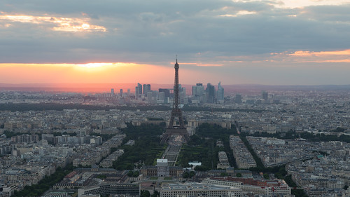 paris sunset sunrise eiffel tower montparnasse tour city cityscape skyline canon5dmkiv mk4 mkiv 5d canon