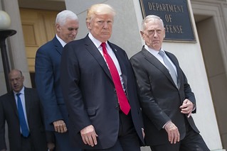 SD National Security Council with POTUS and VPOTUS   by Chairman of the Joint Chiefs of Staff