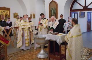 Литургия в Спасском соборе 120