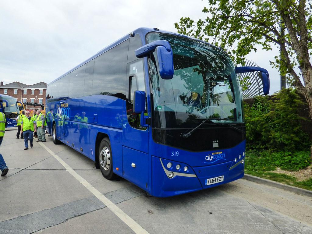 Plymouth Citybus 319 WA64FZY