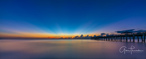 sony a7r2 sonya7r2 ilce7rm2 zeissfe1635mmf4zaoss fx fullframe scenic landscape waterscape longexposure beach pier tropical nature outdoors sky clouds colors reflections sunrise junobeach junobeachpier jupiter florida southeastflorida palmbeachcounty atlanticocean