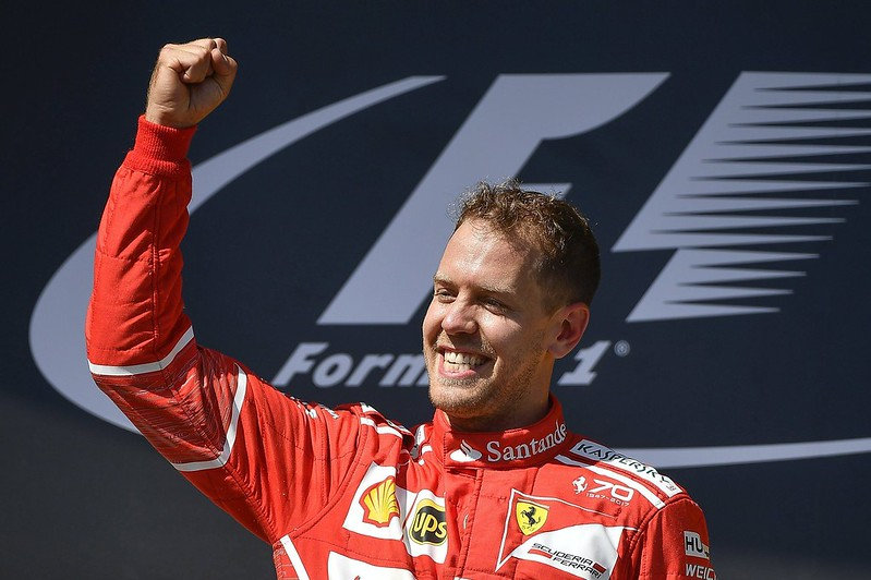 Sebastian Vettel。(達志影像資料照)