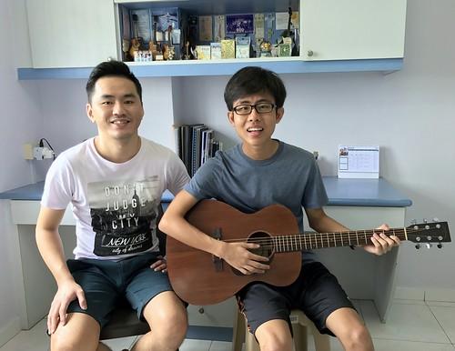 Guitar classes Singapore Gerald