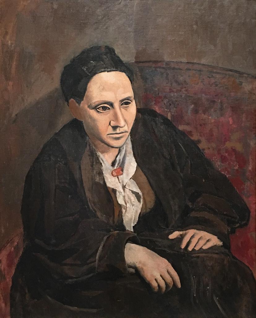 Pablo Picasso, Gertrude Stein, 1905-06, Met