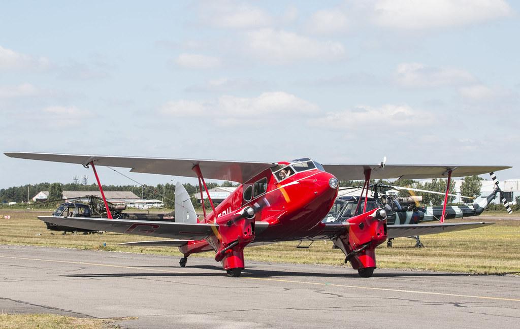 EGLK - de Havilland DH.90 Dragonfly - G-AEDU