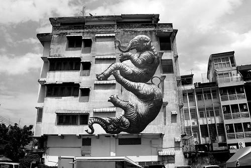 graffiti and streetart in bangkok