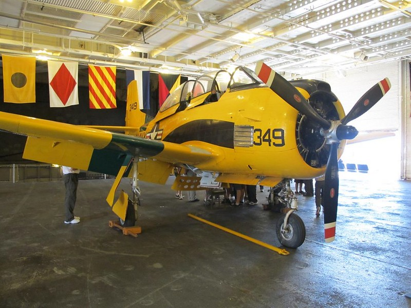 North American T-28B Trojan 1