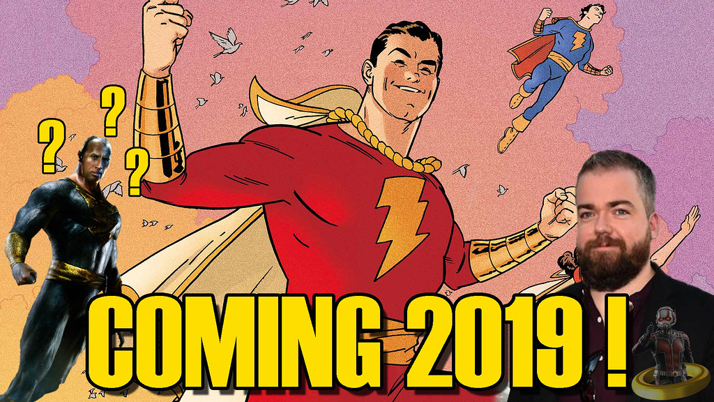 Shazam! CONFIRMED For 2019 Release!