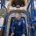 Astronaut USAF Col. Bob Behnken emerges from the hatch of a SpaceX Crew Dragon spacecraft being manufactured at SpaceX's headquarters and factory in Hawthorne, California, March 8, 2017. Behnken is one of four NASA astronauts selected to train with Boeing and SpaceX ahead of flight tests for NASA's Commercial Crew Program to develop launch vehicles to take astronauts to the International Space Station. (Photo/SpaceX)