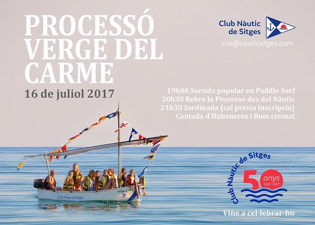 Festa Verge del Carme Sitges 2017