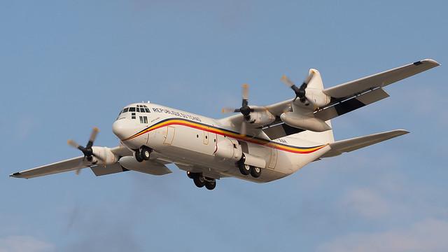 TLV - Republique du Tchad Hercules C-130 TT-AAH