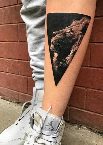 Realisztikus állat tetoválások