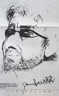 Autoportrait Serge Gainsbourg | by 5bisruedeverneuil