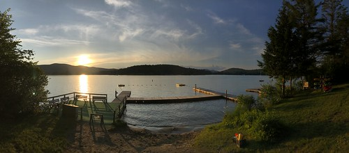 vermont ohana camp waterfront sunset shotoniphone shotoniphone7plus