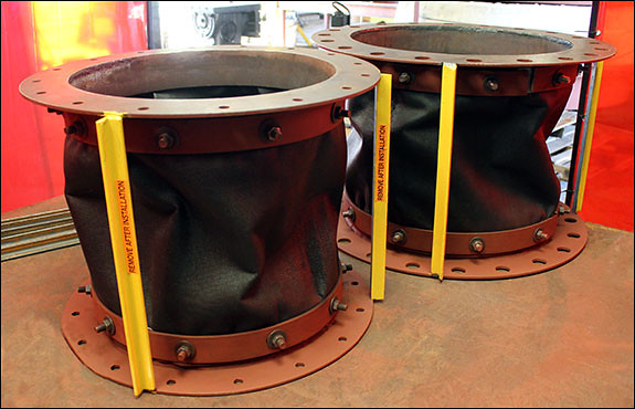 Fabric Expansion Joints for a Carbon Gas application at an Oil and Gas Facility