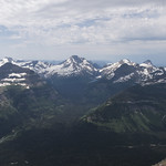 View from Going-to-the-Sun Mountain summit