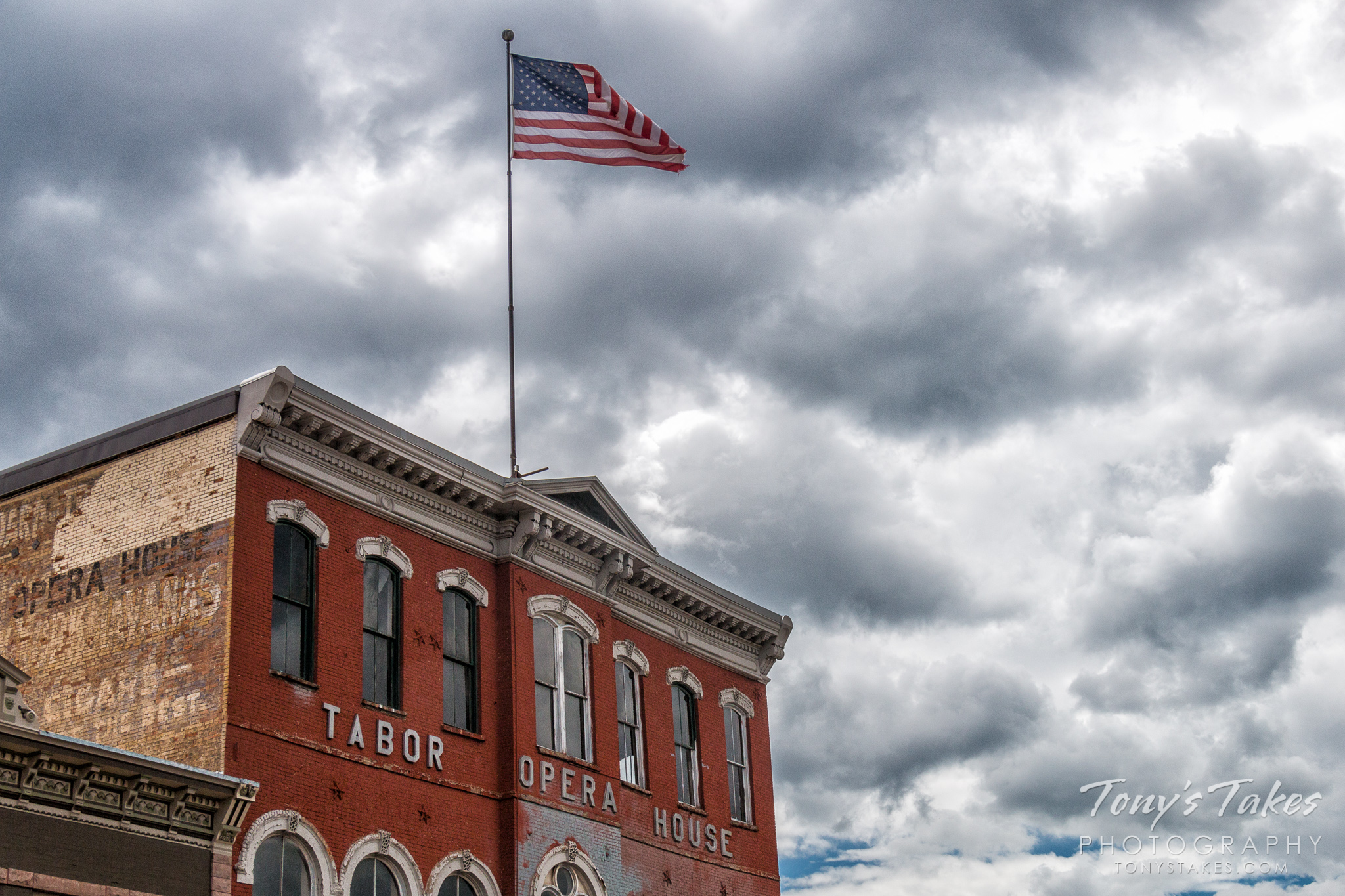 The historical Tabor Opera House in Leadville, Colorado. (© Tony's Takes)