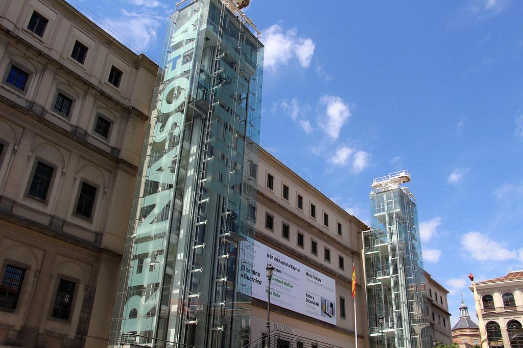 Madrid Museo Nacional Centro De Arte Reina Sofia Flickr