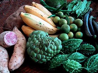 Chinatown fruits and veggies