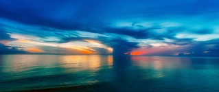 Storm Cloud Sunset | by Charles Patrick Ewing