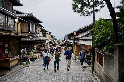 Straße zum Kiyomizu-Tempel | by chillyistkult