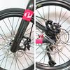189-534-1 Performer FANTAST-SORA-18速-黑白 (碳纖單臂平把碟煞小徑車406輪組7005鋁合金車架-47CM