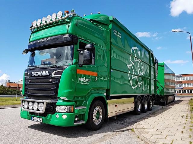 Scania R520 - Ragn Sells - Fredrik Malm Transport AB