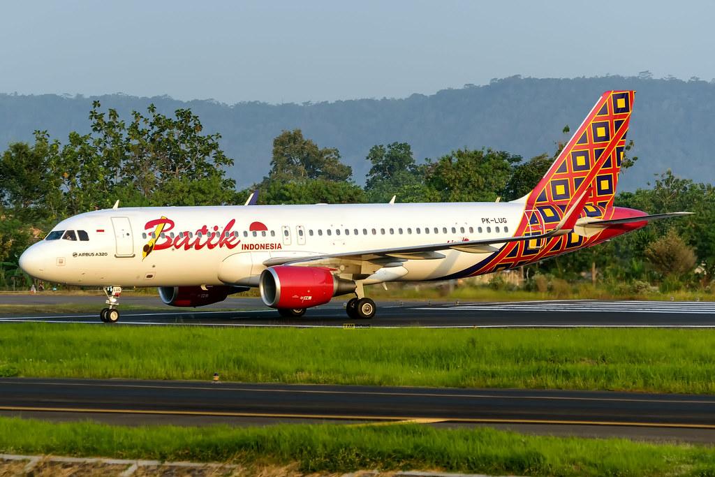 Batik Air   PK-LUG