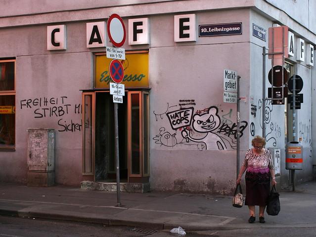 Pictuesque Street Corner in Favoriten