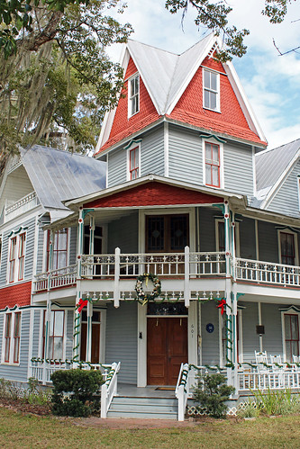 house architecture historical museum victorian tower brooksville florida