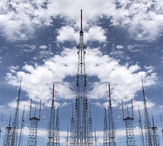 Antenna Farm on Mount Wison, Los Angeles County | by p.bjork