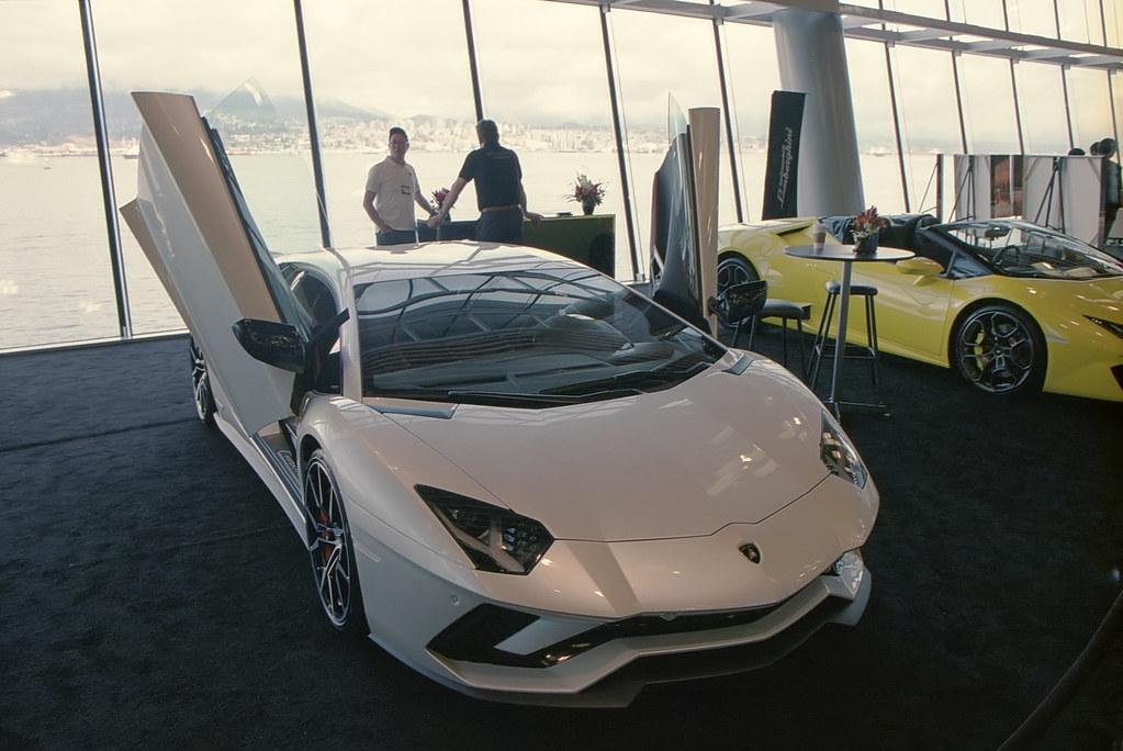 Lamborghini Vancouver Auto Show 35mm Film Shot On Cano Flickr