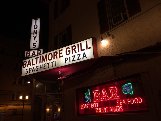 Tony's Baltimore Grill - Atlantic City 2016 Retro Roadmap