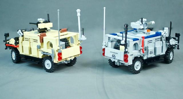 Oshkosh Jackal M-ATV rear view