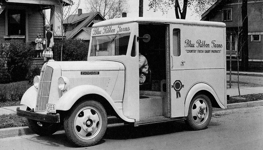 115b3d4286 ... 1936 Dodge Delivery Van