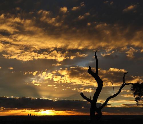 sunset lesmurdie westernaustralia