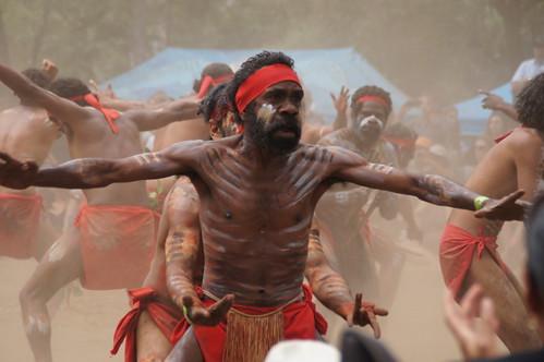 The Kurumba Mob Doing shake a leg Far North Qld Australia