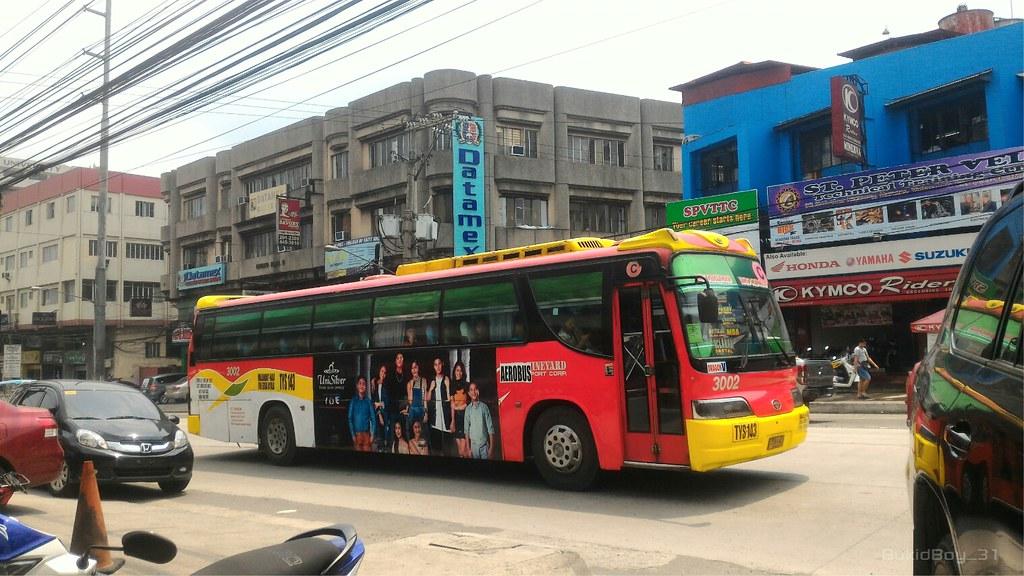 AEROBUS 3002 | Aerobus Bus Manufacturers: Zyle Daewoo Bus Co… | Flickr