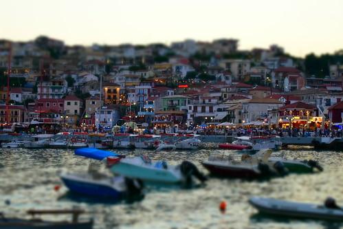 Parga, Greece, Tilt Effect